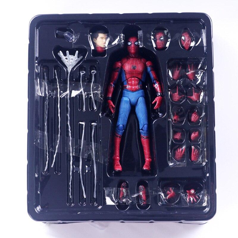 15 cm The Avengers 3 Spider man PVC Action Figure Gesicht Hände Füße Veränderbar Spiderman Figur Sammeln Modell Puppe spielzeug SA1777-in Action & Spielfiguren aus Spielzeug und Hobbys bei AliExpress - 11.11_Doppel-11Tag der Singles 1
