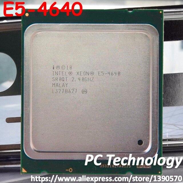 E5-4640 Original Intel Xeon E5 4640 2,4 ghz 8-Core 20 mb SmartCache FCLGA2011 95 watt freies verschiffen