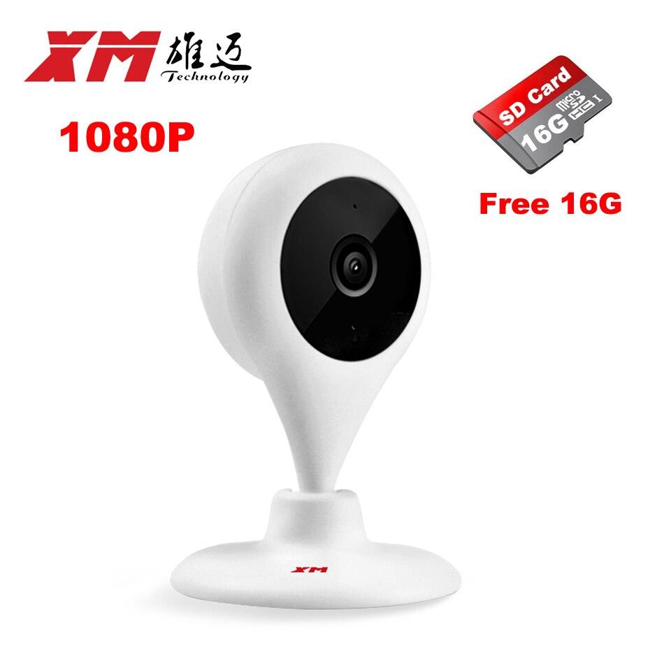 200 W HD Câmera IP + 16 GB Com Controle Remoto Wifi Inteligente Rede Baby Monitor CCTV Câmera de Segurança Em Casa proteção Cam