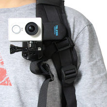 Backpack Clip Mount 360 Rotary Fast Clamp for GoPro Hero HD 1 2 3 3+ 4 hot new(China)