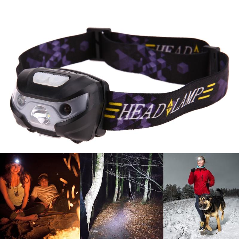 3500LM LED Head Lamp Body Motion Sensor Headlamp Mini Headlight USB Rechargeable Camping Flashlight Headlight Lamp Outdoor Light albinaly 5w led body motion sensor headlamp mini headlight rechargeable outdoor camping flashlight head torch lamp with usb