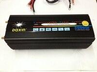 3000 W DC12V à AC220V/DC24V à AC220V Onde sinusoïdale Modifiée UPS onduleur avec batterie de charge fonction livraison gratuite