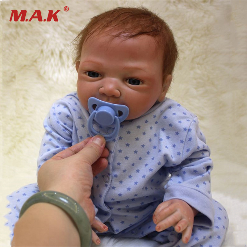 New Baby Reborn Dolls Silicone Baby Doll Toys Little Girl Boy baby-reborn Kid's Playmates Christmas Birthday Gifts Brinquedos handmade ancient chinese dolls 1 6 bjd jointed doll empress zhao feiyan dolls girl toys birthday gifts