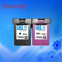 Free Shipping High Quality Ink Cartridge Compatible For HP704 HP 2010 2060 Large Capacity