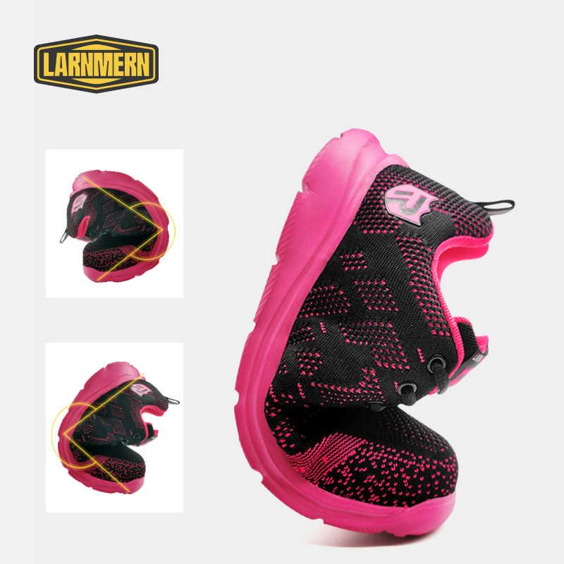 Rosa Sicherheit Schuhe Für Frauen Stahl Kappe Arbeit Schuhe Bau Schuhe Sicherheit Arbeit Stiefel Atmungsaktive Frauen