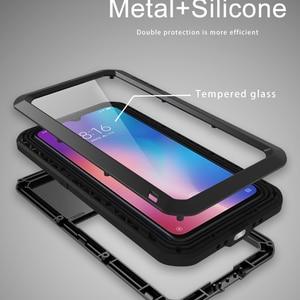Image 5 - אהבת מיי עבור Xiaomi Mi 9 מקרה גורילה זכוכית חיים עמיד למים עמיד הלם מתכת מלא Protectve מקרה עבור Xiaome mi9 טלפון כיסוי מקרה