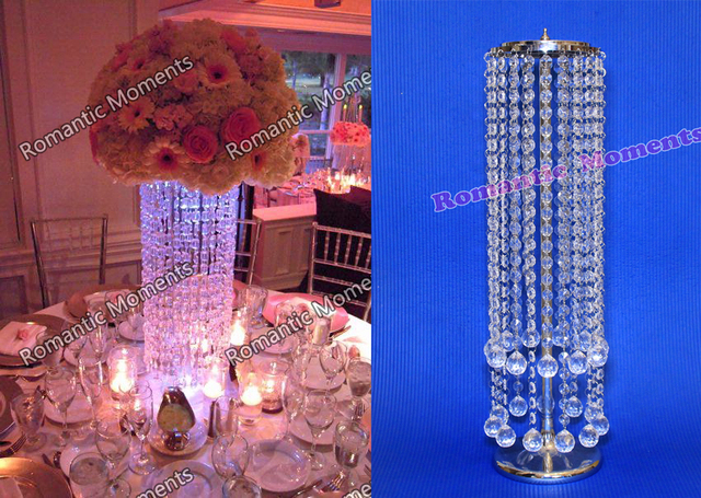 20pcs Acrylic Crystal Wedding Centerpiece/Table Centerpiece/wedding ...
