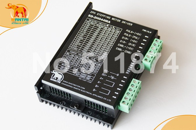 Good Quality! Wantai Stepper Motor Driver SD-2H044MA 4.2A 45V replacing M542 CNC Mill Cut Laser Engraving with High Performance good quality wantai cnc 8 lead nema34 stepper motor 85bygh450d 002 770oz in 94mm 4a ce rohs iso router cut mill laser engraving