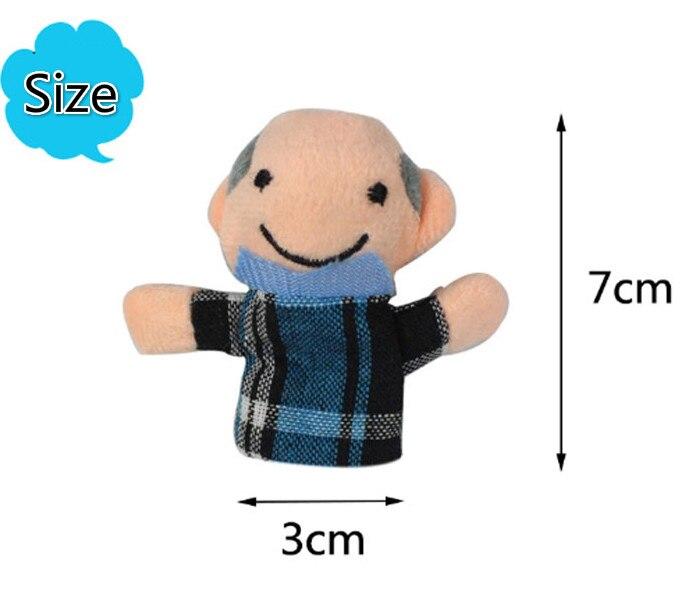 Bayi Mainan Boneka Jari Memberitahu Cerita Alat Peraga 10 Pcs Hewan atau 6  Pcs Keluarga Boneka Mainan Anak Anak Hadiah di Boneka dari Mainan   Hobi ... 4ee298f05d