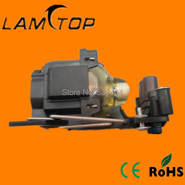 LAMTOP  compatible lamp with housing/cage  DT00821  for  HCP-600X/HCP-610X dt00821 oiginal projector bulb with housing for hitachi hcp 600x hcp 610x hcp 78xw projectors