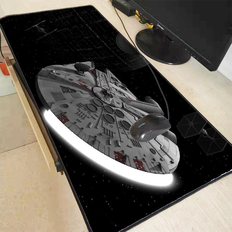 Mairuige 900*400*3mm Star Wars Waterproof Office Mice Gamer Gaming Keyboard Mat PC Computer Tablet  Large Locking Edge Mouse Pad