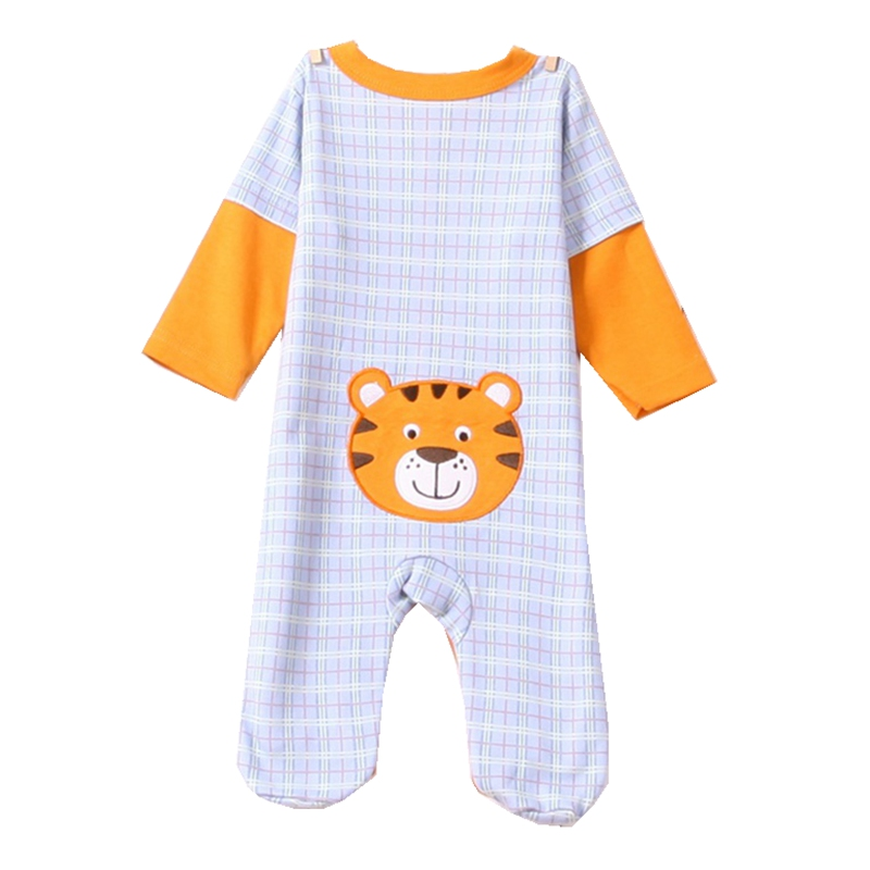 Cute Tiger Long Sleeve Baby Boy Romper Kids Overall Macacao Bebe Jumpsuits Infant Rompers Children Clothes Toddler Boys Clothing cute minnie baby girl romper long sleeve baby clothes roupa infantil macacao ropa bebe jumpsuit baby rompers infant clothing