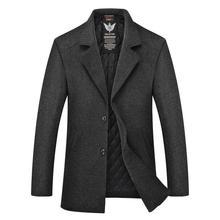 8XL 7XL 6XL plus size Winter Jacket Men Thickening Wool Coat Slim Fit Jackets Outerwear Warm