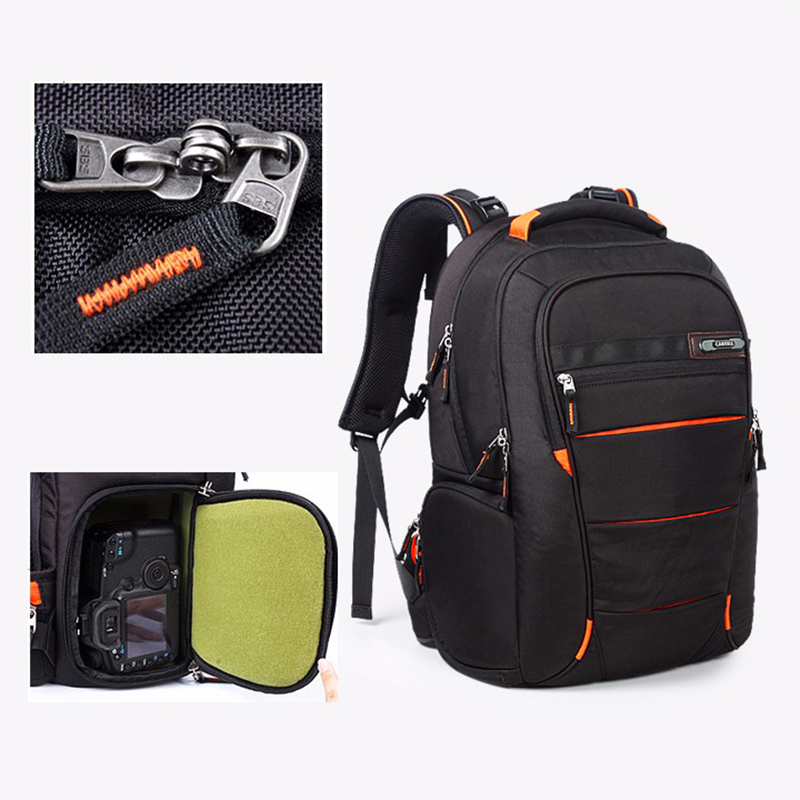C3050 Full Open Camera Bag Men Women Backpack Camera Digital Shoulders Large Capacity Backpack For Canon Nikon SLR Camera Bag new genuine lowepro transit backpack 350 aw slr camera bag backpack shoulders with all weather cover wholesale