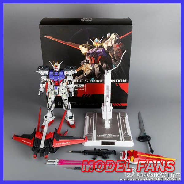 MODEL FANS IN-STOCK Moshow strike gundam sjeme 1/72 GAT-X105 Metal - Igračke figurice