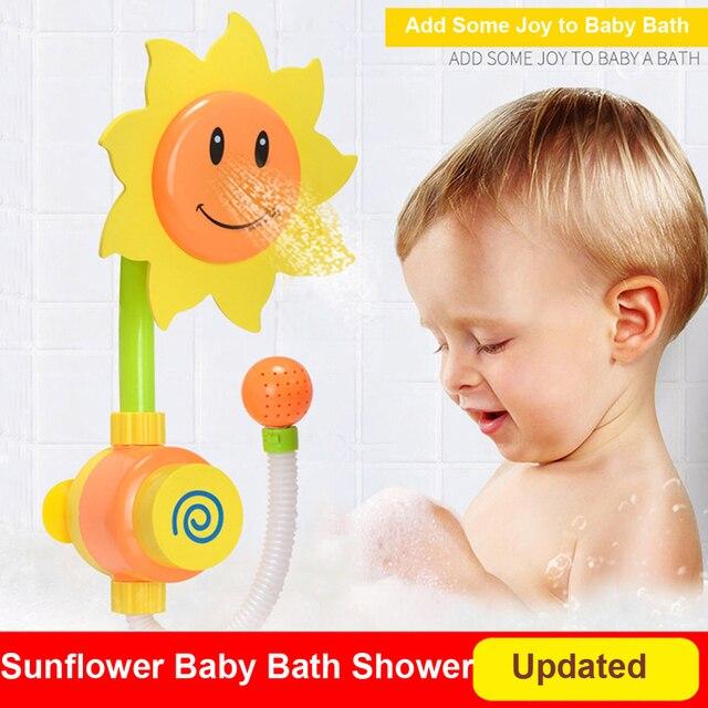 Nowa Aktualizacja Słonecznik Niemowląt Zabawki Do Kąpieli Kąpieli