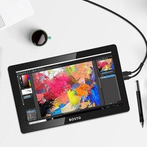 Image 5 - BOSTO KINGTEE 13HDV4 、グラフィックタブレットモニターに DrawTablet モニター、インタラクティブペンディスプレイ、ペンディスプレイ、デジタイザディスプレイ