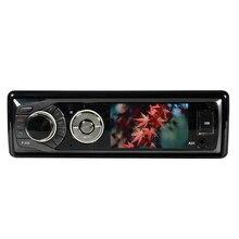 """Одиночный Din """" Автомобильный dvd-плеер с нажимным экраном радио стерео Съемная панель видео сабвуфер AUX камера с VCD/MP3/SD/USB/FM SH3582"""