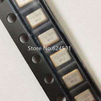 10 Uds parche pasivo cristal 3225 3,2*2,5mm 4 pies 12M 12MHZ 12.000MHZ resonador