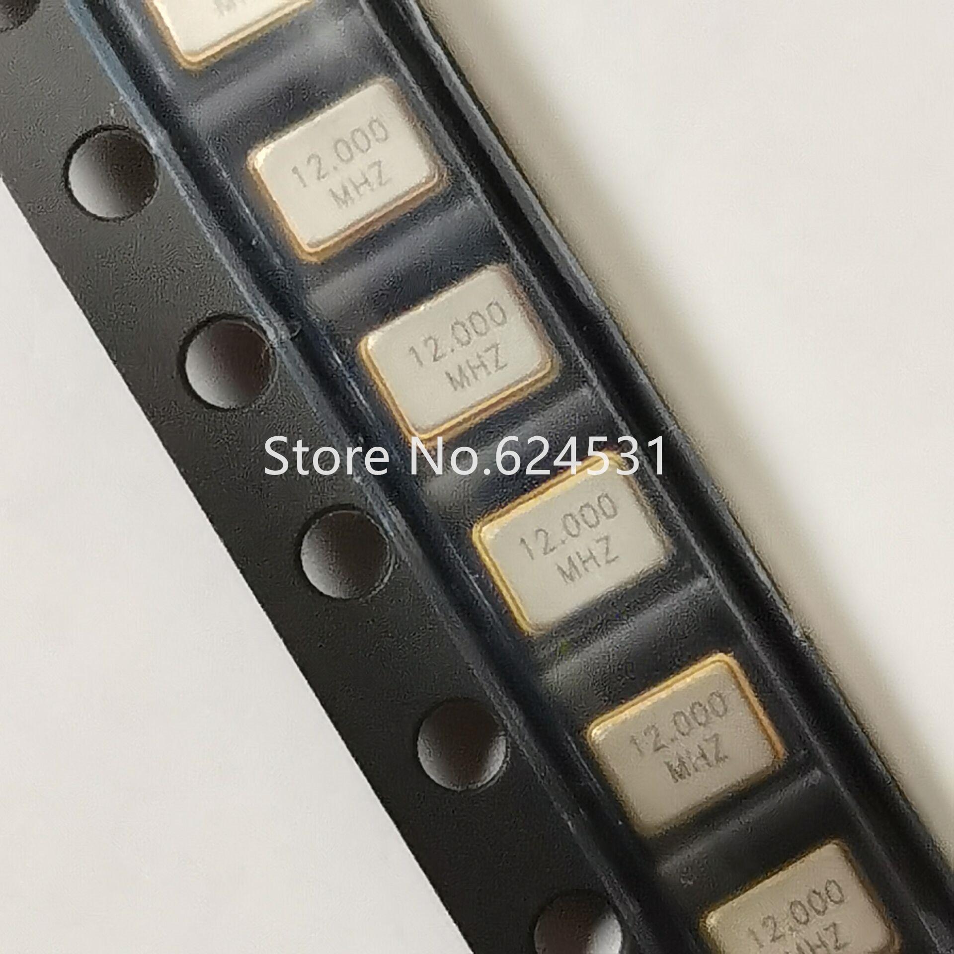10pcs Passive Patch Crystal 3225 3.2*2.5mm 4 Feet 12M 12MHZ 12.000MHZ Resonator