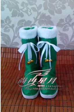 DATE A LIVE Yoshino cosplay costume boot Big cos shoes