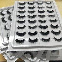 Big Eye's Secret 16styles/set 100% Real Fake Mink Eyelashes 3D Natural False Eyelashes 3d Mink Lashes Soft Eyelash Extension