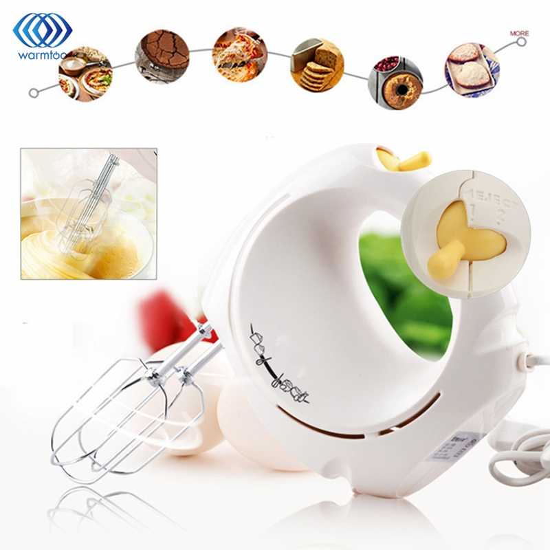 Eggs Mixer Kitchen Food Whisk 2 Speed Electrical Blender Batter Beater Home Cake Baking Cooking Eggs Tools Supplies Handheld stainless steel manual push self turning stirrer egg beater whisk mixer kitchen wholesale price