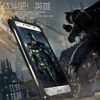 Moda Oryginalny R-po prostu Slim Metal telefon Zderzak Skrzynka Dla Huawei honor 8 Aluminiowa Rama Dla V8 Ciekawe Batman Armor Anodowane Coque