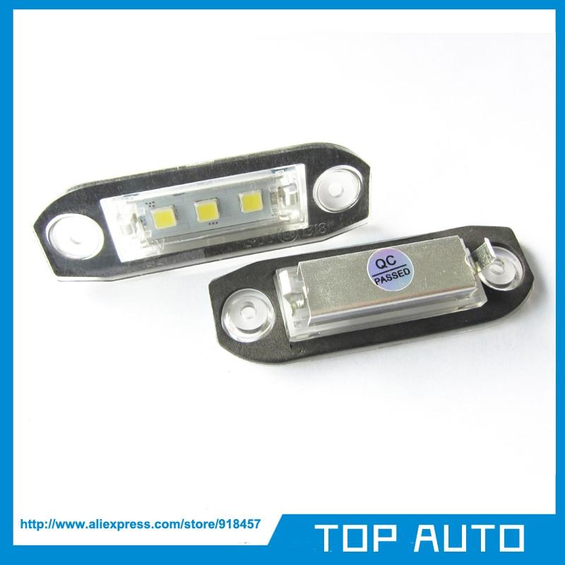 Pcs Canbus Led Font B License B Font Font B Plate B Font Light For Font on Volvo C70 License Plate Light