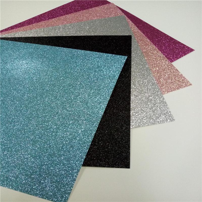 1000pcs Free Shipping 12x12 DIY Glitter Crft Paper