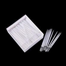 Хит 300 шт пластиковые 2 пути зубочистки чистки зубов Уход за полостью рта столовая посуда для бара декоративные