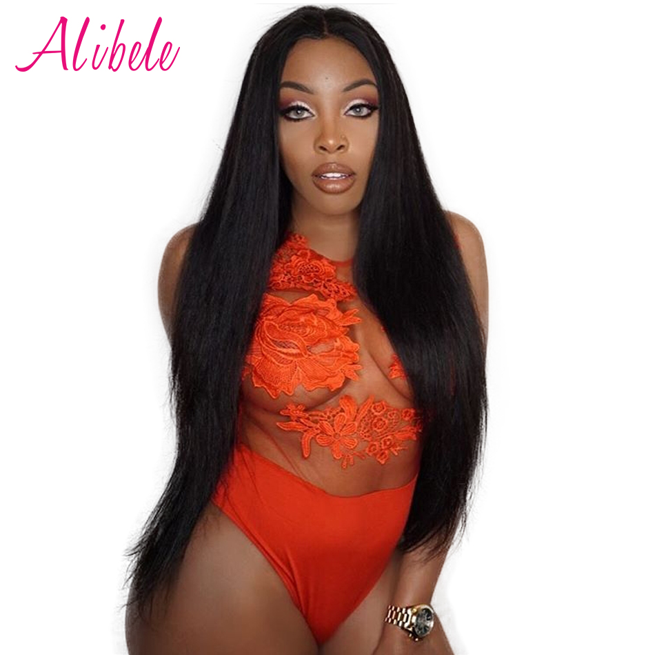 Straight hair perm products - Alibele Malaysian Straight Hair Bundle 100 Human Hair Weaving Natural Color Remy Hair 1 Piece 10 28inch Can Be Dyed And Permed