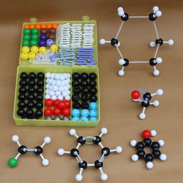 269 pcs/lot High Quality Molecular Model Set Kit-General And Organic Chemistry School Lab Teaching Research tools with box 06202 ranju bansal rakesh yadav and gulshan kumar asthma molecular basis and treatment approaches