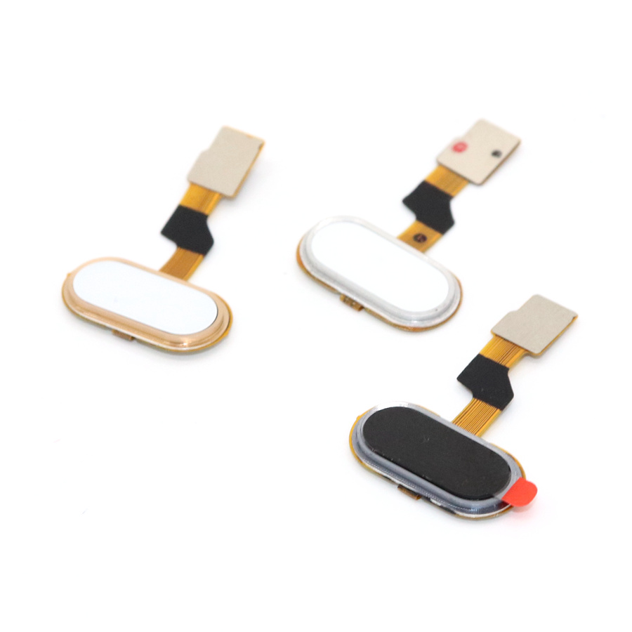 Image 2 - for Meizu M3S Home Button FingerPrint Touch ID Sensor Flex Cable Ribbon Replacement for MEIZU M3S Button Key Black/White/Golden-in Mobile Phone Flex Cables from Cellphones & Telecommunications