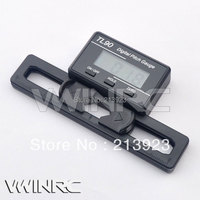 NEW Digital Pitch Gauge Display LCD Per ALIGN AP800 T-REX 250 450 500 550 700 e Altri Remoto Flybar RC Elicottero Flybarless