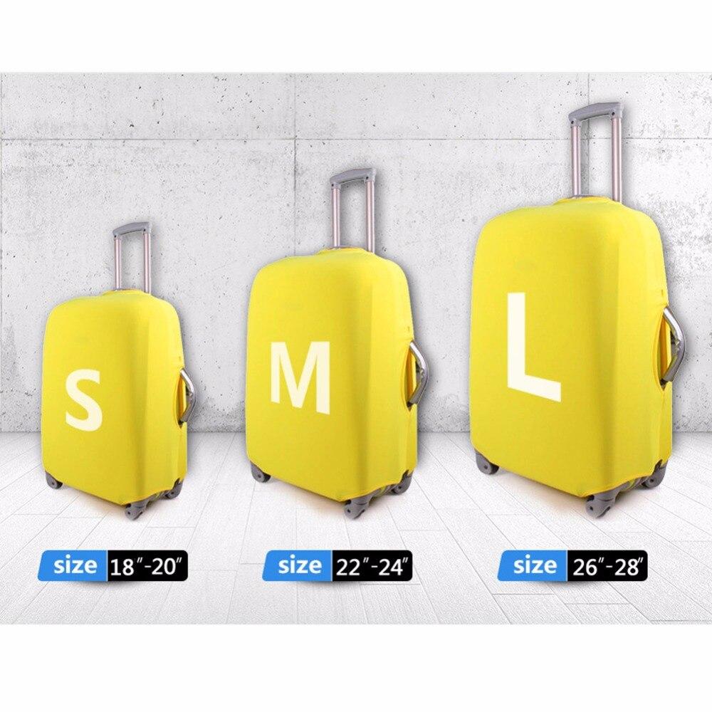 Noisydesigns ПУД собака толще дорожного чемодана Защитная крышка дорожные аксессуары эластичные Чемодан Пылезащитный чехол относятся к 18-30 дюйм...