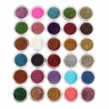 2018 New 30pcs Glitter Eyeshadow Eye Makeup Shimmer Powder Pigment Nail Cosmetic Glitters Mixed Colors