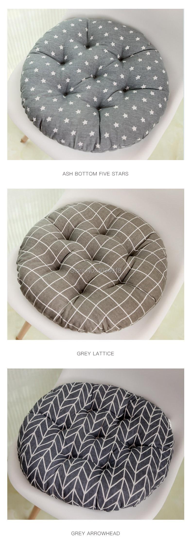 Round Cushion 38x38/43x43/48x48cm office chair sofa cushion tatami circular decoration seat cushion chair cushions wholesale