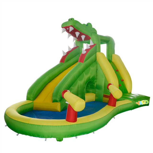 YARD Free Shipping New Arrival Dinosaur Inflatable Water Slide For Kids Outdoor Toys For Happy Summer