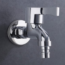 High quality copper G1/2 single cold Basin Faucets reservoir water tap connection washing machine Faucet free shipping цена 2017