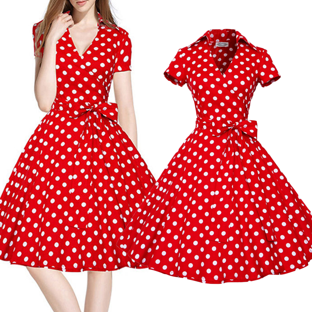Compare Prices on Polka Dots Red- Online Shopping/Buy Low Price ...
