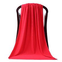 80*180 см банное полотенце из микрофибры простое пляжное ткань