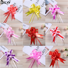 BXLYY hot 2019 New Year Decoration 3 * 48cm Medium Bow Hand Flower Wedding Party Supplies Christmas Tree Decoration.7