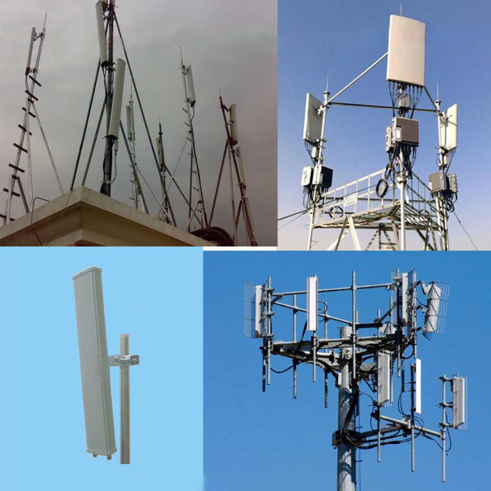 1800-2700MHz 3G 4G Outdoor Patch Panel Antenna Dual Polarization DCS WIFI  WLAN LTE Base Station Antenna