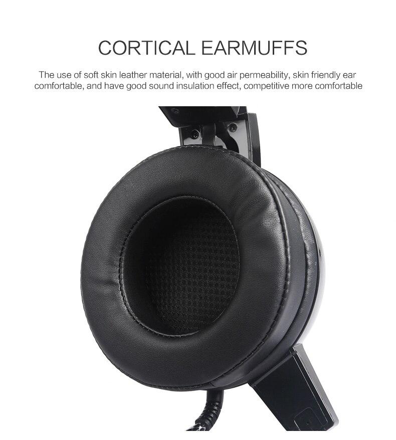 Salar c13 gaming grande fone de ouvido