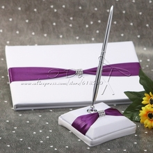 Wedding Collection Guestbook and Pen Set