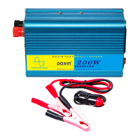 Car Inverter 200W Pure Sine Wave 12v 220v 24V 110V Car Power Inverter Charger Veicular Converter