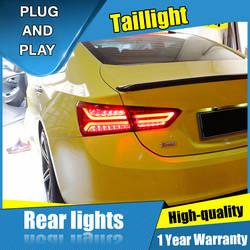 4 шт.. Автомобильный Стайлинг для Chevrolet Malibu задние фонари 2016-2018 для Malibu светодиодный задний фонарь + поворотник + тормоз + задний светодиодный