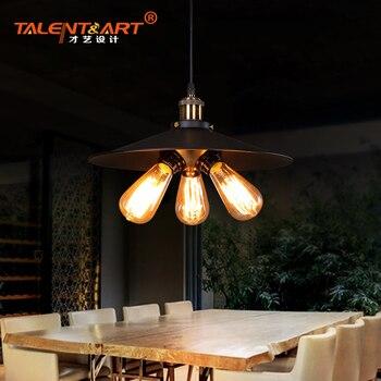 2016 E27 * 1/2/3 lampade um beleuchtungs sospensione suspensão luz pingente luminária nórdico lâmpada de iluminação do vintage 07