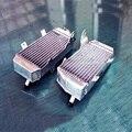 Для Honda CRF450R CRF 450 R 2009-2012 L & R алюминиевого сплава радиатор 40 мм core размер алюминиевый воды коробка двигателя охлаждения